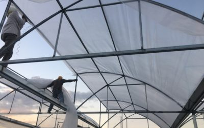 How To Install UV Polyethylene Plastic Film on Greenhouse